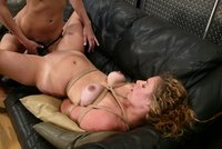 Sexy newbie Lola broken in by Mistress Audrey Leigh