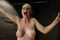Double Penetration, brutal nipple clamps and tied up tits while machines fucking her in all holes it's an EPIC day with Captain hottie, Penny Pax.