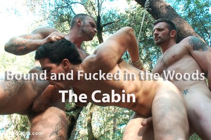 The-Cabin-Series-4-Bound-and-Fucked-in-the-Woods