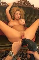 Kiki Daire takes a mean DP.