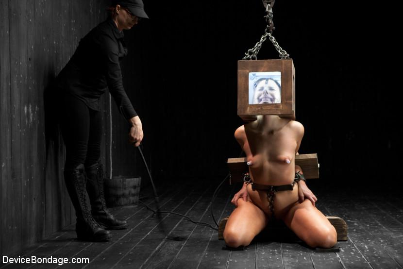 Latex bondage fuck