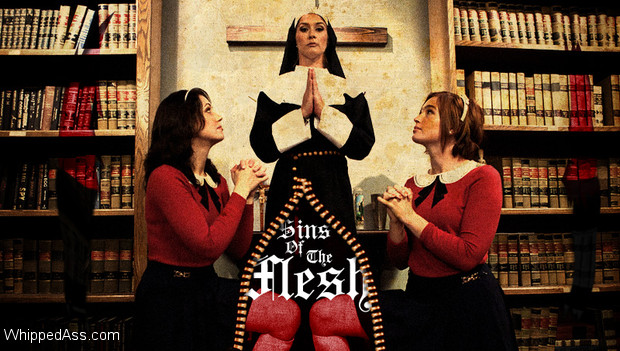 Sister Felony punishes and strap-on fucks two co-ed's at the convent in this taboo, sadistic lesbian story.