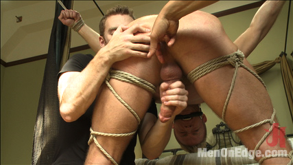 Porn superstar christopher daniels   bound violated and edged. Porn Superstar Christopher Daniels is bound, violated and edged.