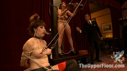 The petitioning of bella rossi. Voluminous Tit slave Bella Rossi applies for a position on the Upper Floor