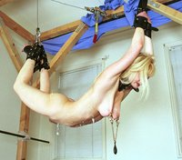 Peanut gets it like only Hogtied knows how!