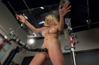 Luscious-GIANT-Breasts-Tied-Clamped-Fucked-and-Oiled-UP