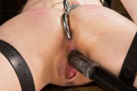 Sexy submissive lifestyler suffers beautifully with rough and kinky lesbian sex and and anal pounding!