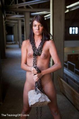 Cassandra Nix Slave Trained, Day One