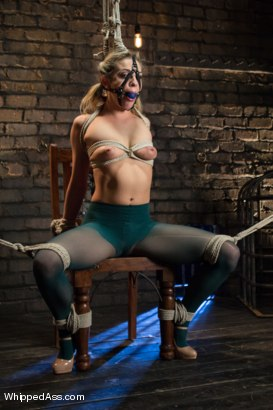 Sexy new comer Dahlia Sky is taught the ropes for lesbian BDSM with sadistic bitch Maitresse Madeline.