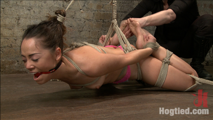 Hot Hispanic Drilled & Challenged with Unforgiving Bondage