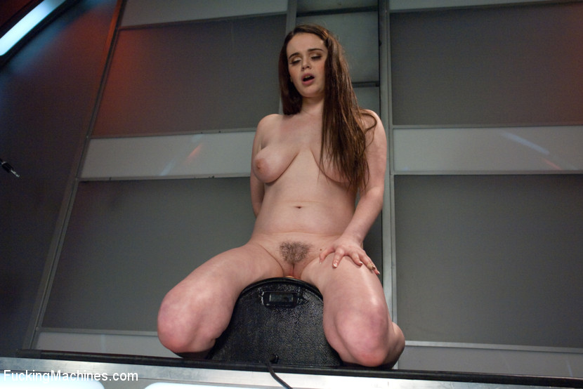 Full bodied Girl Fucked by Machines