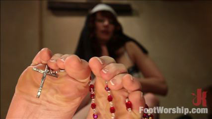 A Convent Of Foot Sinners: Footsploitation, Nunsploitation, Blasphemy and FULL FOOTING!
