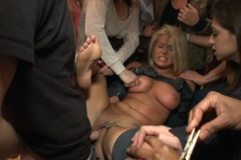 Hot-Blonde-Girl-gets-Disgraced-at-a-house-Party