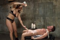 Construction-worker-with-a-bad-attitude-punished-by-Chanel-Preston