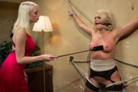 Prostitute is preyed upon by rich lesbian woman and punished and used for her sexual pleasure.