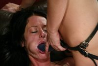 Ass licking, flogging, footworship and vibrator orgasms.