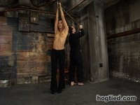 Love goddess gets tied up and used.