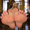 Webbed Toed Submissive Slut Worships Aiden Starr's Feet!