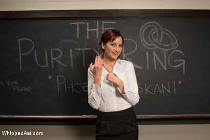 Virginal pre med student is made to get punished and ass fucked by her lesbian professor to get into med school!