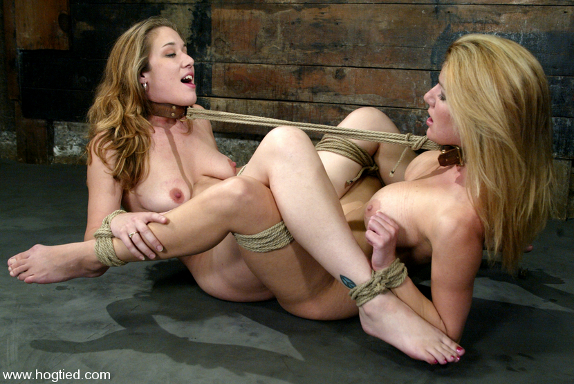 Teen Girls Play Together