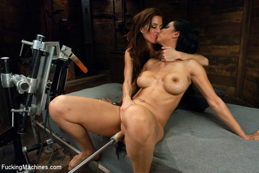 Isis Love and Gia DiMarco together fisting and machine fucking