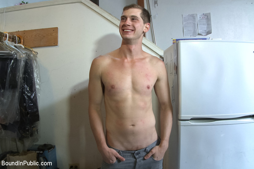 Hung stud whored out to sex club