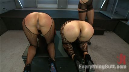 Ass sluts dana vespoli and eva karera. Good sluts get dominated with ass toys and fist by lusty mistress!