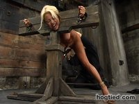 Stacy Burke gets Hogtied and then some!