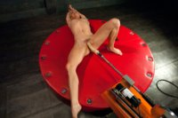 Pretzel girl fucked in contorted, sexy positions by fast, dominating machines. Her pussy stretches as she flexes her body and cums!