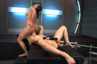Ariel-X-Fists-and-Machine-Fucks-Holly-Hanna-Fist-train-and-Squirting-Os
