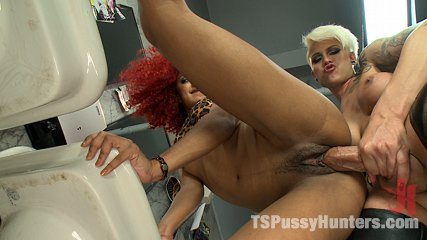 Her biggest fan stalking bathroom fuck glory holes and ejaculate shots. Public bathroom fucking! Ts Danni Daniels fucks a super hot fitness model, making her cum, licking her cunt and popping all over her face!