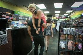Tiny-blonde-deflowered-in-sleazy-sex-shop-1st-ever-porn-shoot