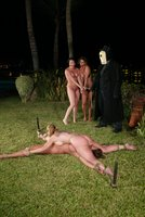 Day of the Dead sexual haunting fantasy in Cabo