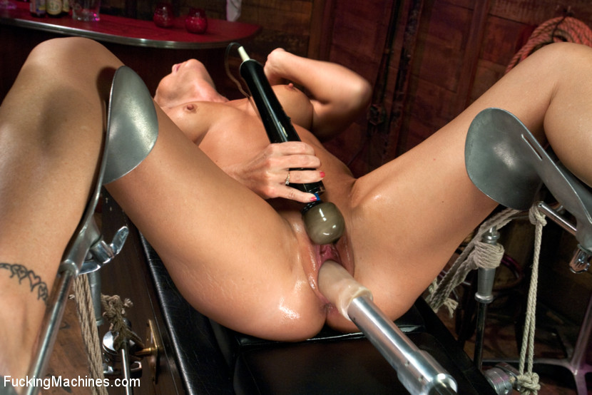 MILF MACHINE – Simone Sonay Takes on the F Machines