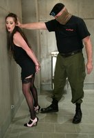 Sgt. Major, BDSM expert, punishes Evie with sex and much more.