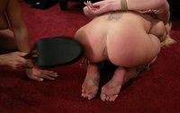 Great ass and pussy licking, footworship, strap-on sex, and more