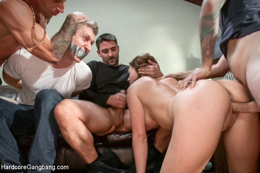 husband watches wife gangbang