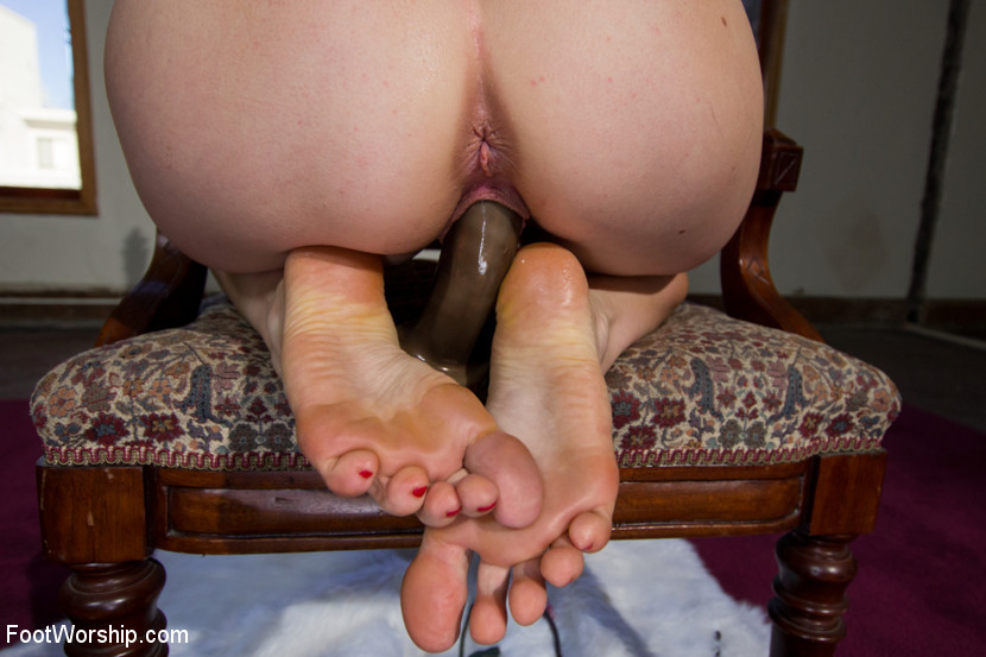 Lesbian Foot Fetish Bondage