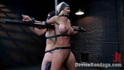 1 milf  1 pain slut  2 whores suffering. Hardcore bondage, squirting orgasms, extreme torment, bastinado, electrical punishment, sensory deprivation, vagina fucking, vagina licking