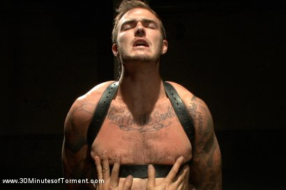 House dom Christian Wilde is put to the test, enduring The Wall, The Pit, and The Water Chamber before blowing his load