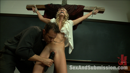 Bullies get fuck and punished. Amanda Tate is punished with rough bondage sex.