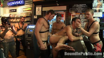 Exciting stud cameron kincade  the folsom street whore. The BIP crew give Cameron Kincade the special treatment for his first Folsom Street Fair, beating him and make love him out in public