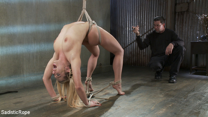 Bailey Blue bondage