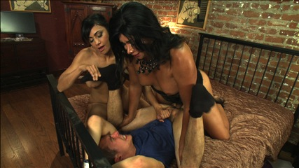 A classic three s company mixup porn. 3some Feature with Vaniity, Beretta James & newcomer Tyler Woods - make love every which way from the sexy, powerful Vaniity and her perfect cock.