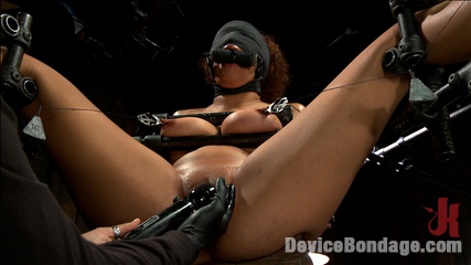 Samoan beauty with huge natural tits is anguished and have sex. Considerable natural tits, sensory deprivation, chain suspension, nipple torment, cunt fucking, cunt torment, screaming orgasms!!