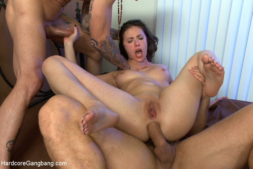 Valuable Anal gangbang rough you