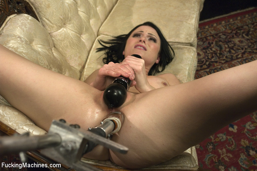Veruca James having intense orgasms with machines!