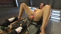 Maniac fucking & thighs of pure gold - Lea Lexis uses her perfect athlete body to make the fuckingmachines her orgasm bitch! DP, anal, pussy fucking