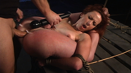 A true servile slut. Trinity Post is truly a complaisant slut that will try her hardest to take harsh punishment and please her Master.