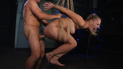 Stretching the slut. Who knows how long sex slave Annette has been left on the stretching rack but by the time Brandon arrives she is willing to do anything to be released